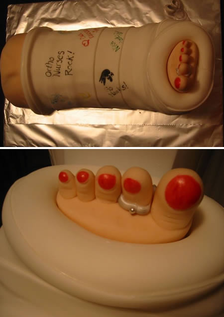 Medical Themed Birthday Cake