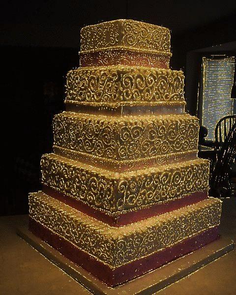 Metro Detroit Wedding Cake