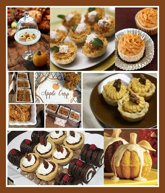 11 Photos of Thanksgiving Mini Cakes