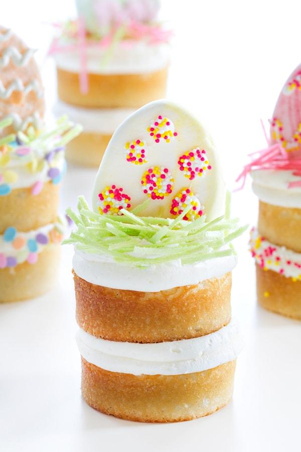 Mini Vanilla Bean Cakes