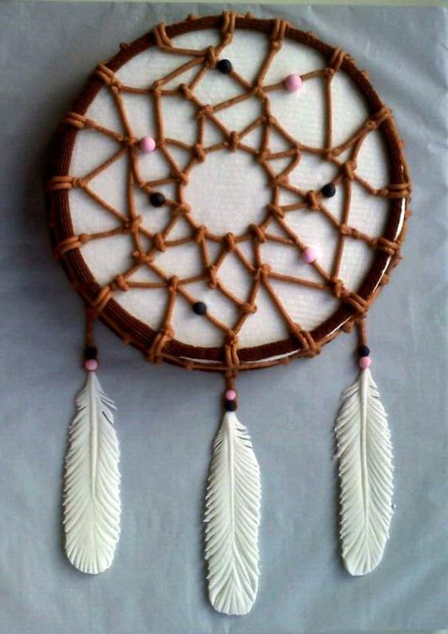 Native American Dream Catcher Cake