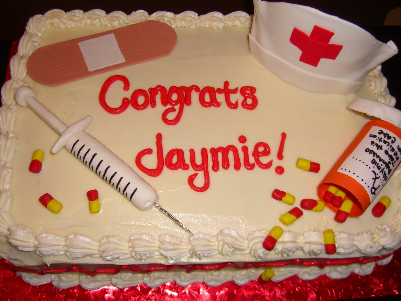 Nursing Graduation Cake Ideas