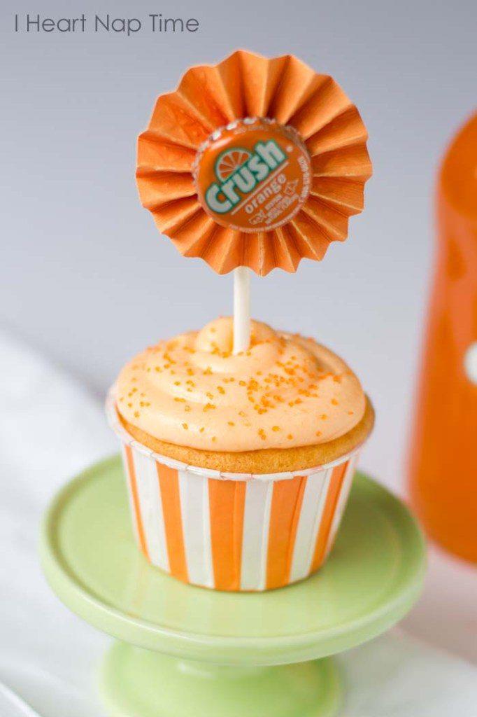 Orange Cream Cupcakes