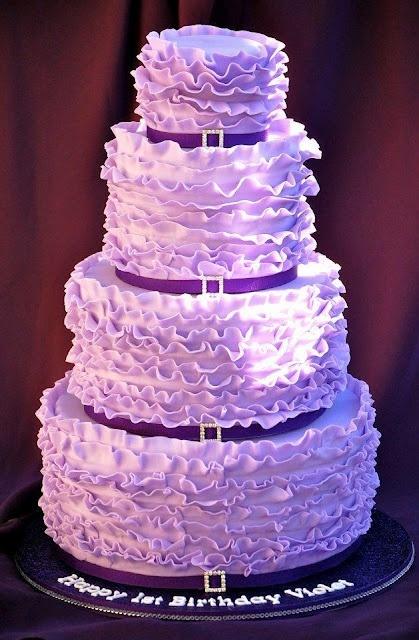 Purple Birthday Cake Ideas