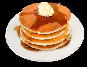 Tall Pancake Stack Transparent