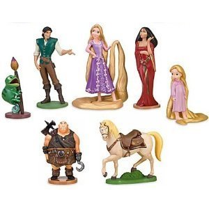 7 Photos of Rapunzel Figurines For Cakes