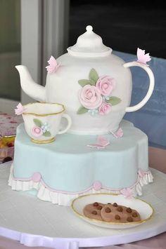 6 Photos of Coolest Tea Party Cakes