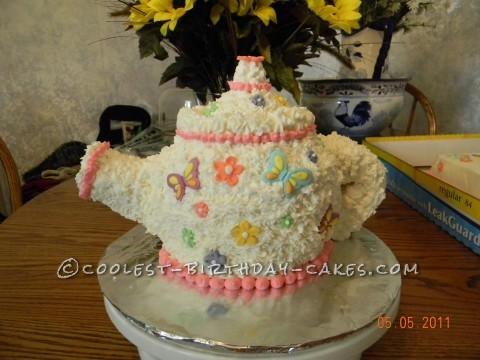 Tea Pot Birthday Cake