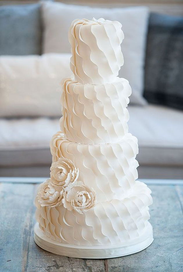 13 Photos of Unique Wedding Cakes Texture