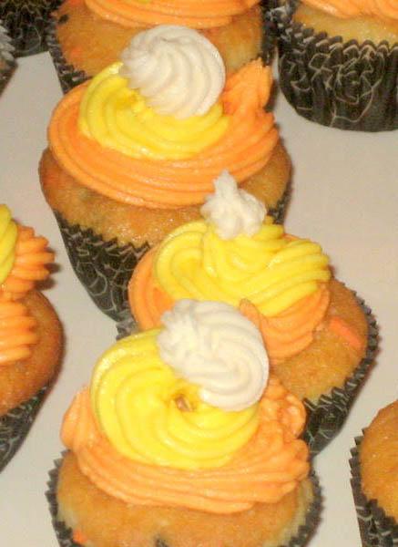 Thanksgiving Mini-Cupcakes