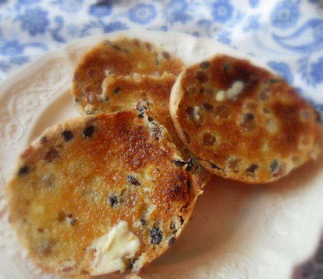 Toasted Tea Cakes English