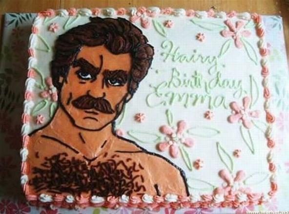 Tom Selleck Birthday Cake