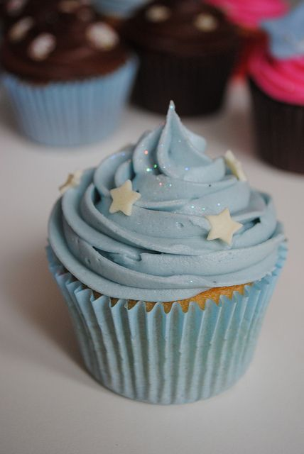 Twinkle Little Star Cupcakes