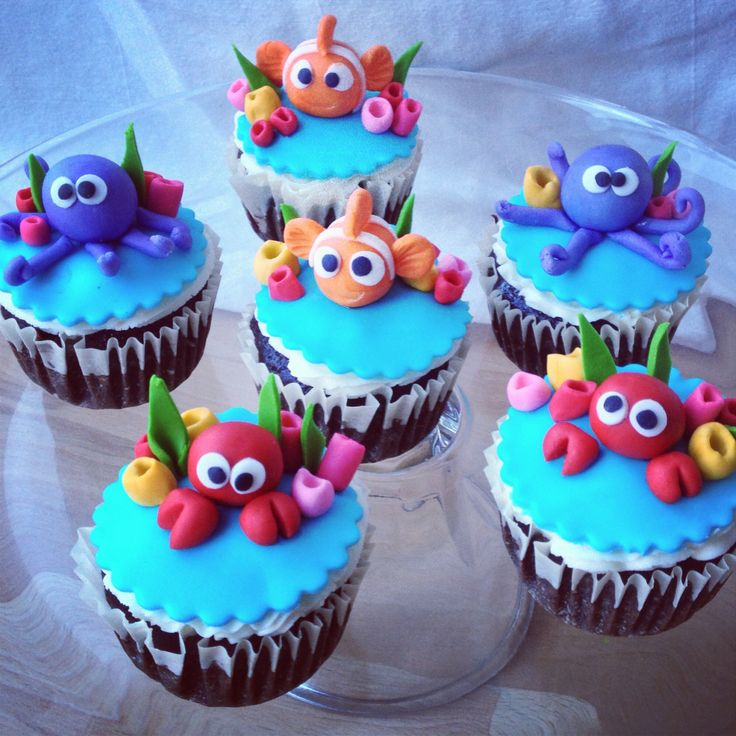 Under the Sea Cupcake Cake