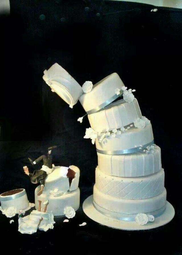 Unique Wedding Cake Funny