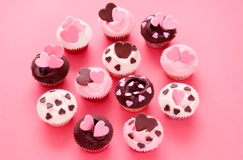 7 Photos of Valentine's Cupcakes Gift