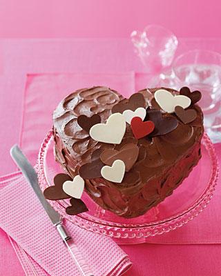 Valentine's Day Chocolate Cake