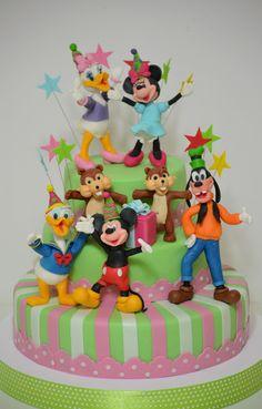 Walt Disney World Mickey Mouse Birthday Cake