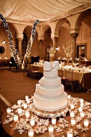 Wedding Cake Table Decoration Ideas