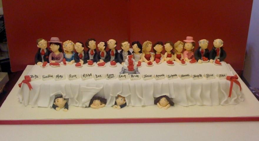 Wedding Cake Table Top