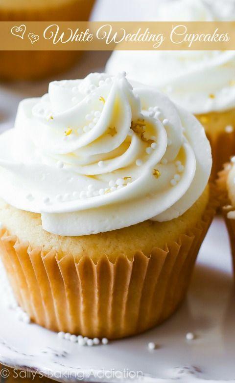 Wedding Cupcakes White Vanilla