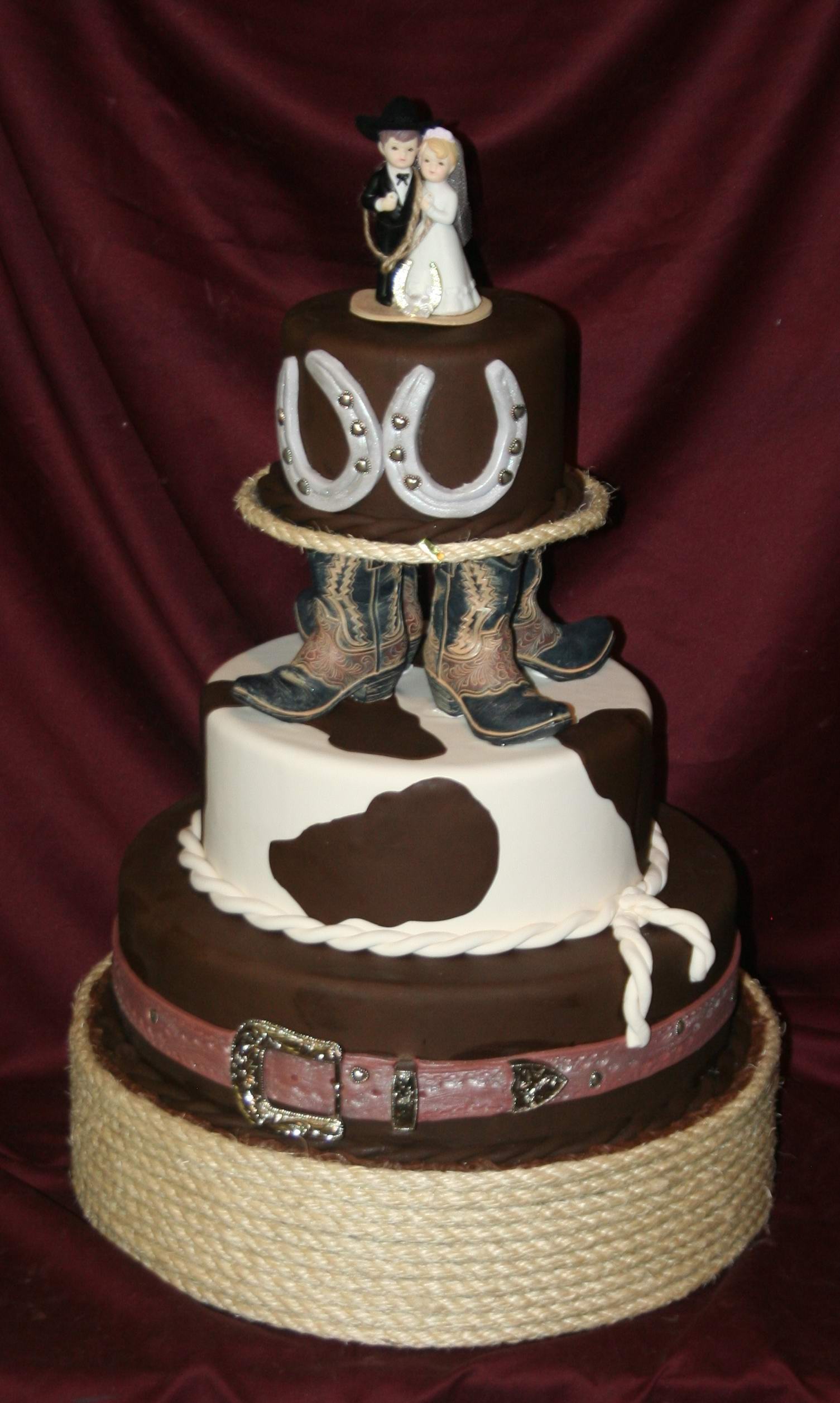 Western Wedding Cake Ideas