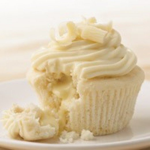 White Chocolate Truffle Cupcakes Recipe