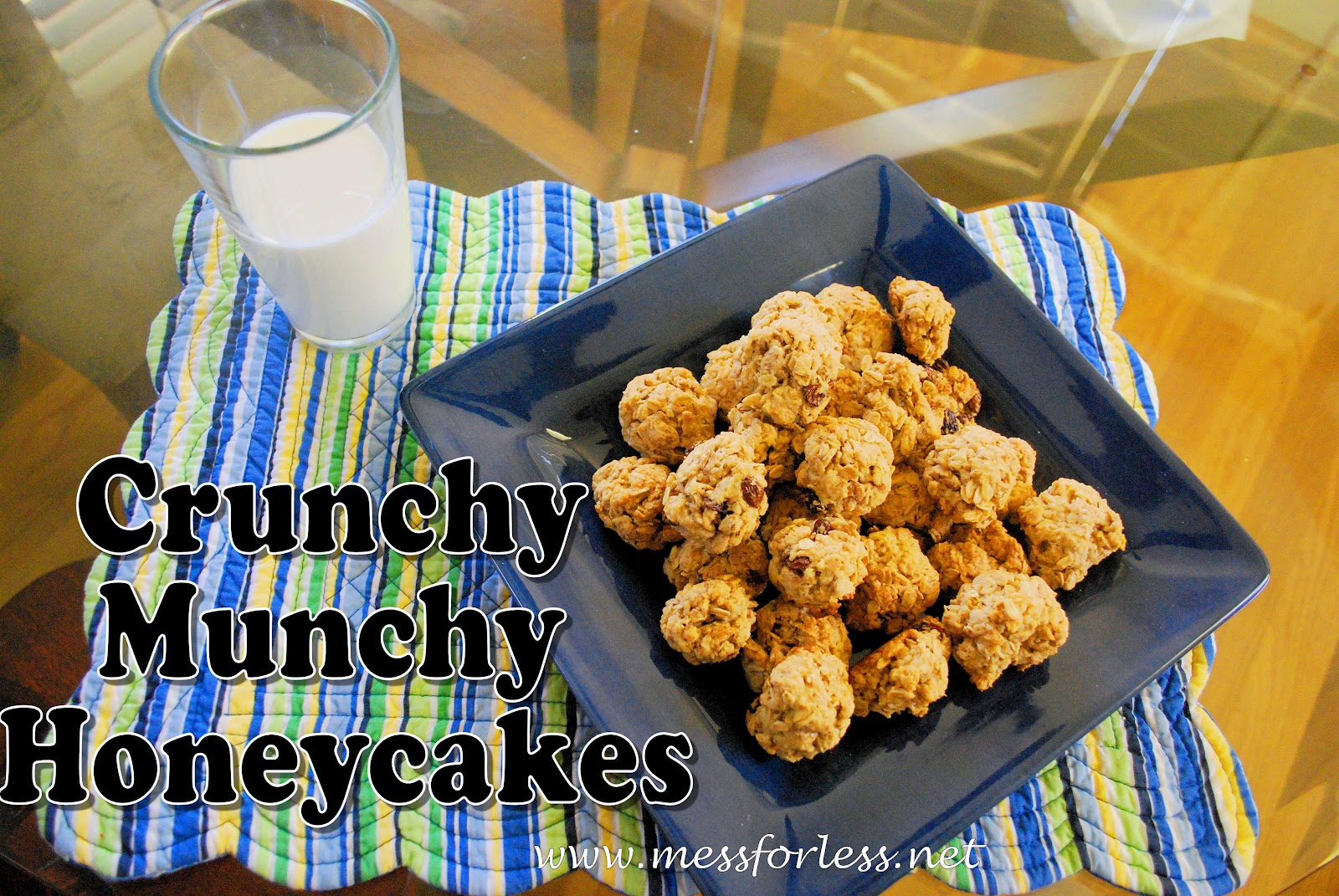 7 Photos of Crunchy Munchy Honey Cakes