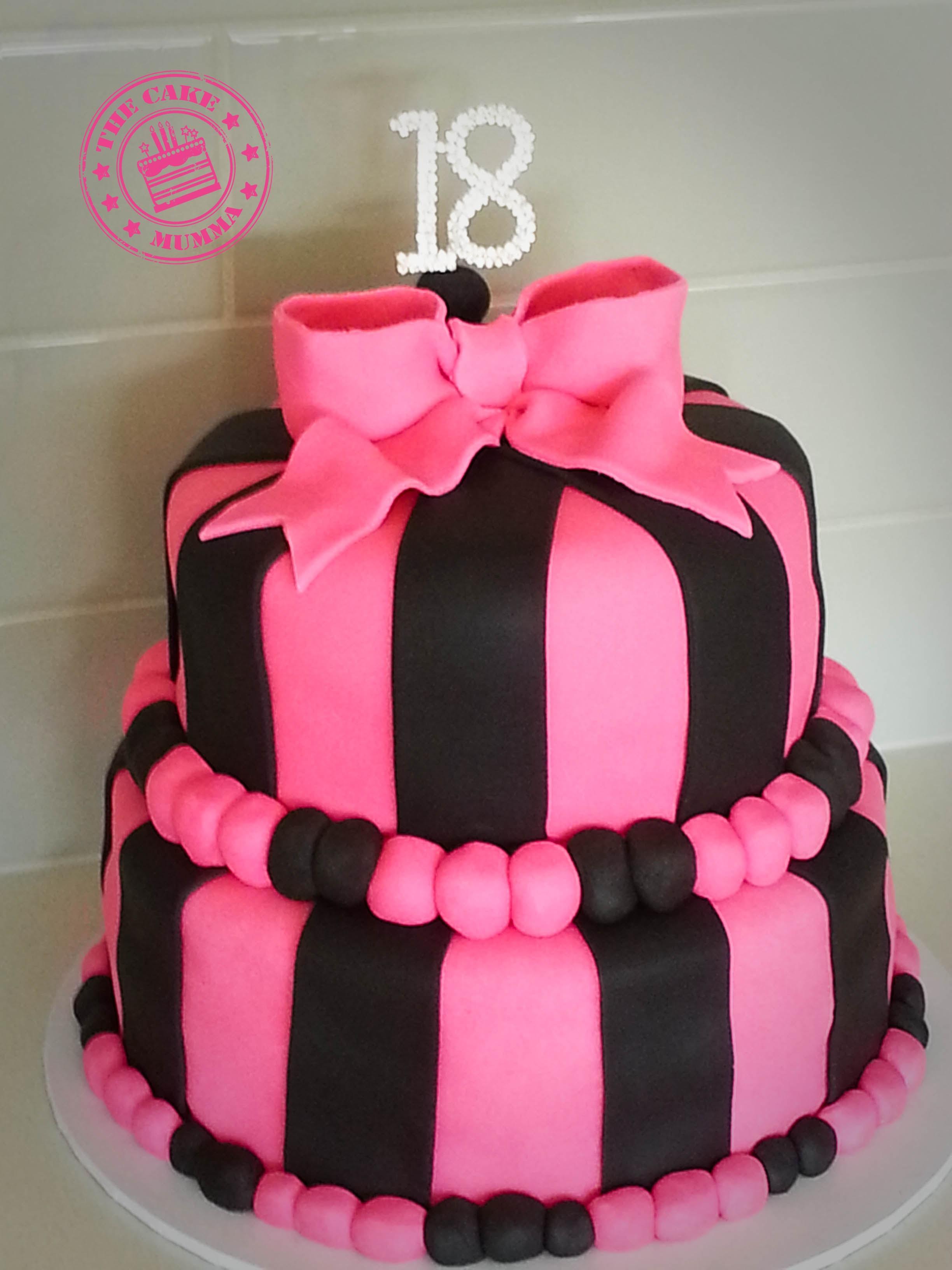 18th Chocolate Birthday Cake