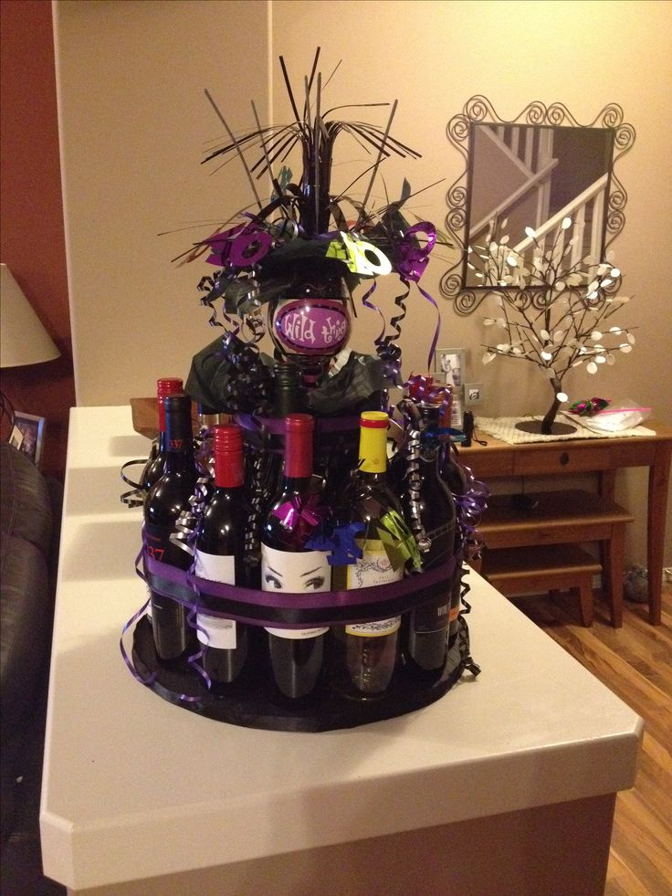 Incredible 9 Wine Shaped Birthday Cakes Photo Wine And Chocolate Theme Funny Birthday Cards Online Unhofree Goldxyz