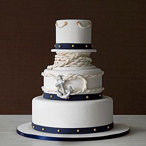 Anchors Away Wedding Cakes