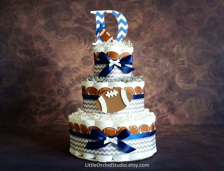 Baby Football Diaper Cake