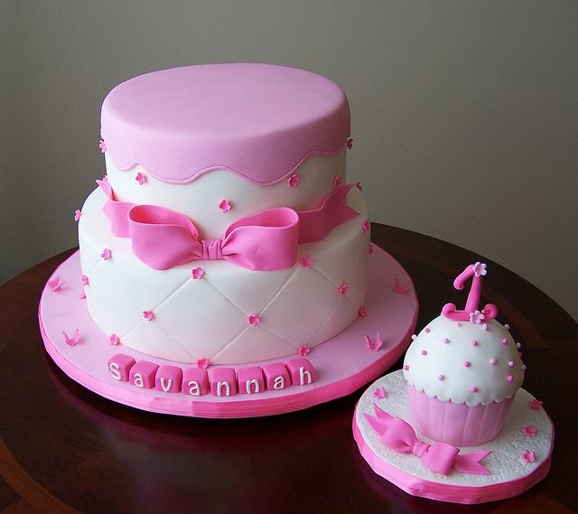 Baby Girl First Birthday Cake Ideas