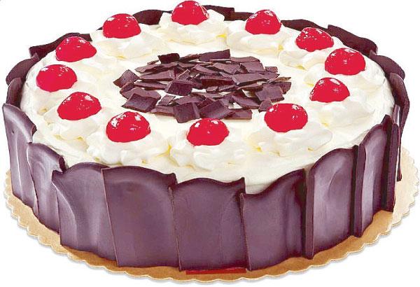 Black Forest Cake Red Ribbon
