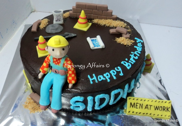 Civil Engineer Birthday Cake