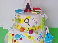 Computer Science Graduation Cake