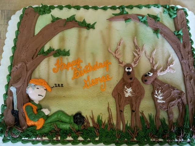 Deer Hunting Birthday Cake Ideas