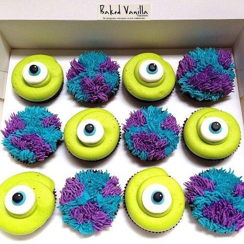 Disney Monsters Inc Cupcakes