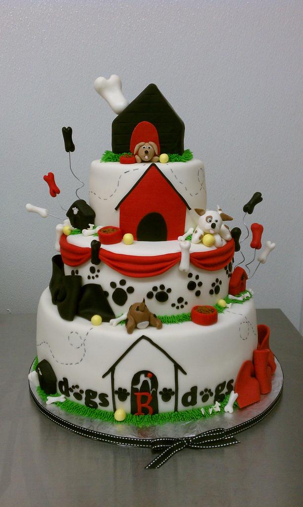 13 Photos of Dog Themed Cakes