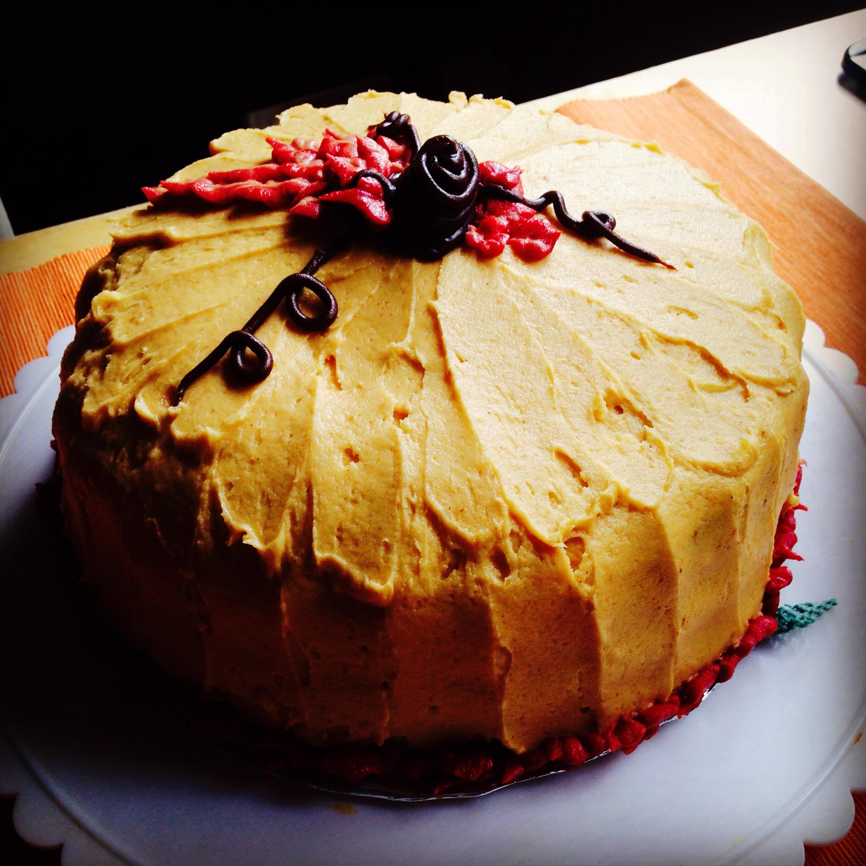 Easy Pumpkin Shaped Cake