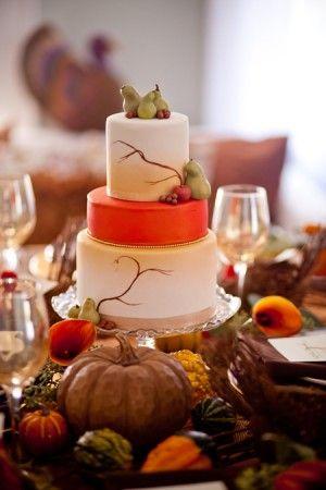 Elegant Thanksgiving Cakes