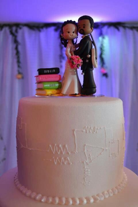 Engineer Wedding Cake