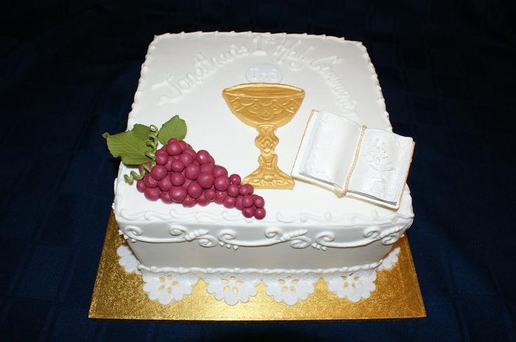 10 Photos of Chalice First Communion Cakes For Girls With