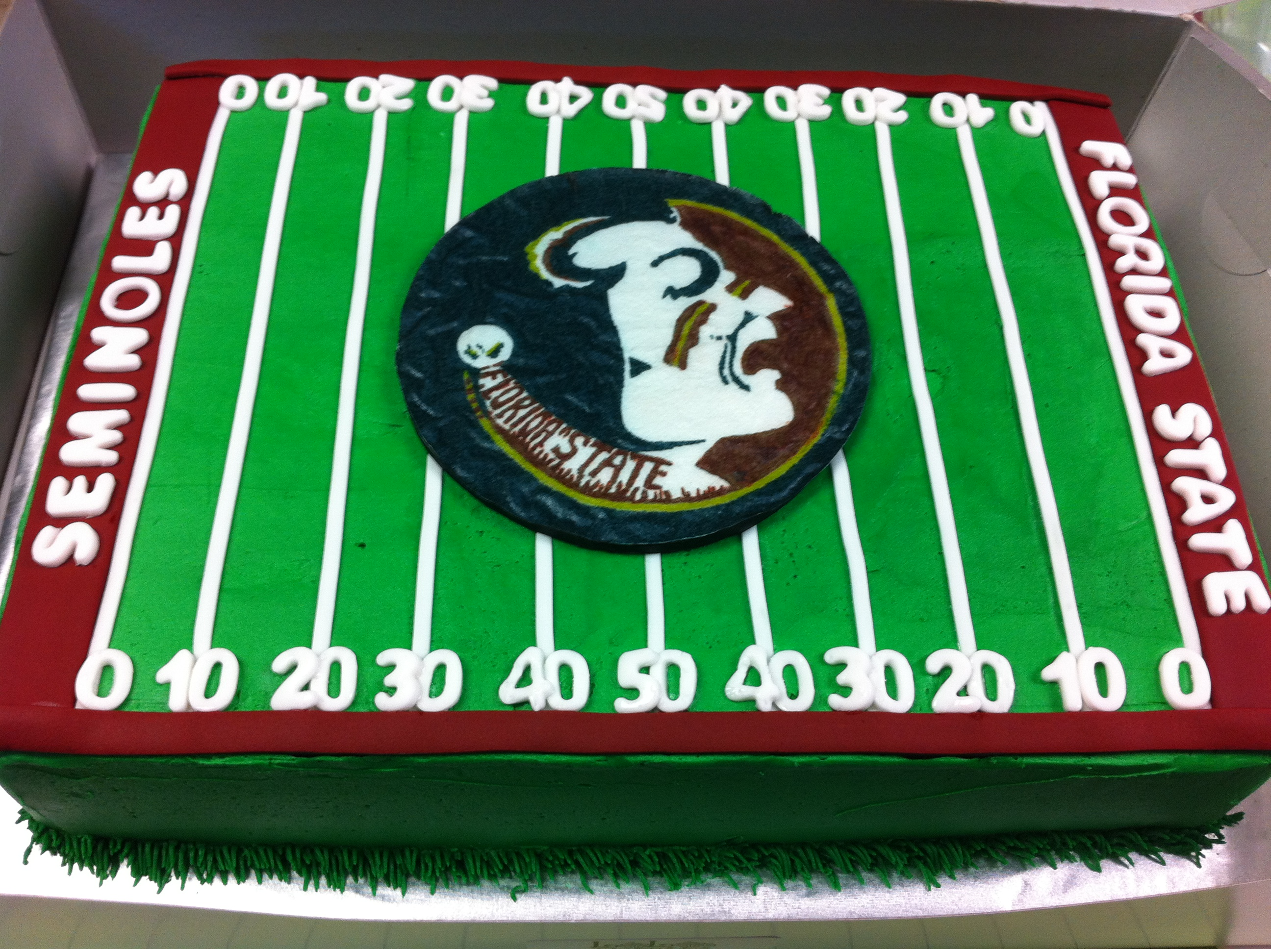 12 Photos of Florida State Groom's Cakes