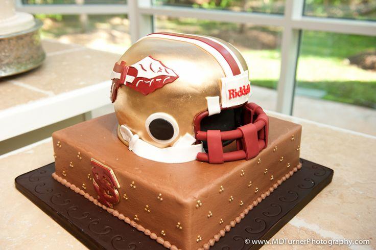 Florida State Football Helmet Cake