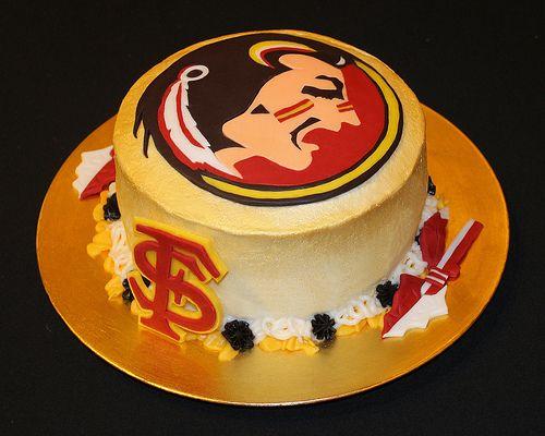 Florida State Seminoles Birthday Cake