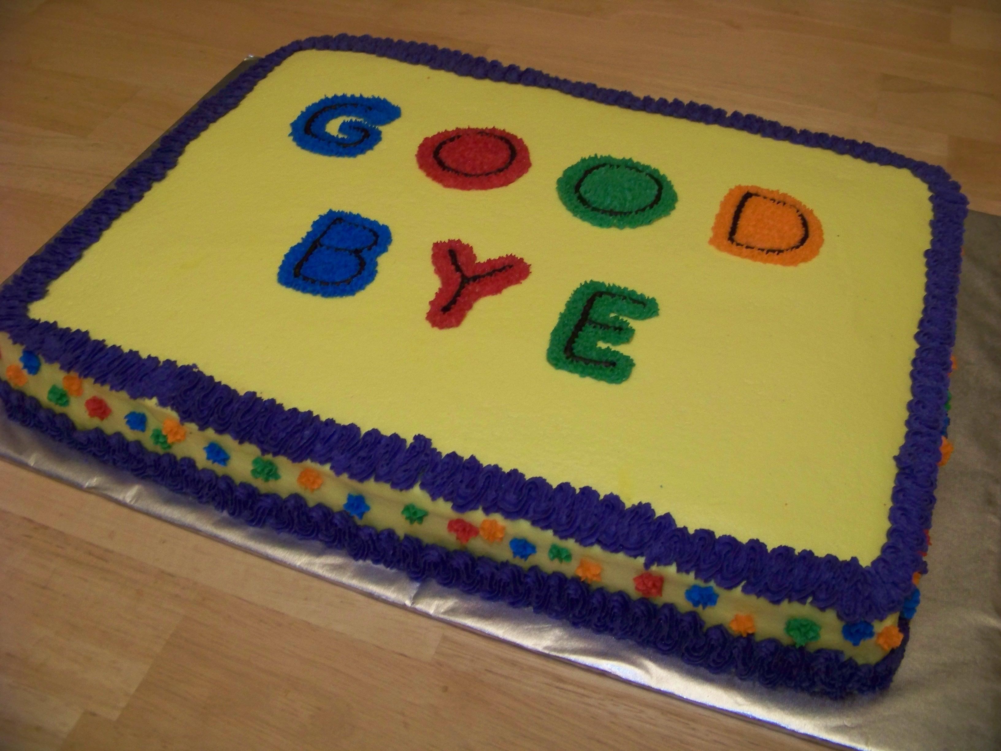 Girls Birthday Sheet Cake