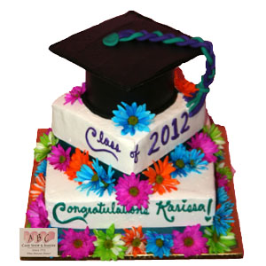 8 Photos of Graduation Cakes With Roses