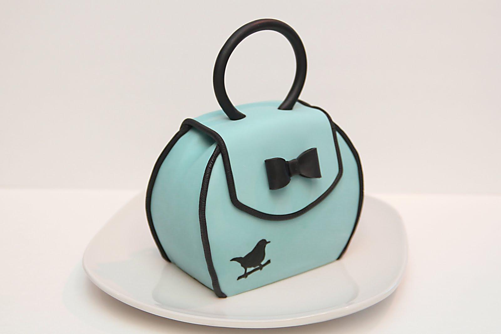 How to Make Purse Cake Tutorial