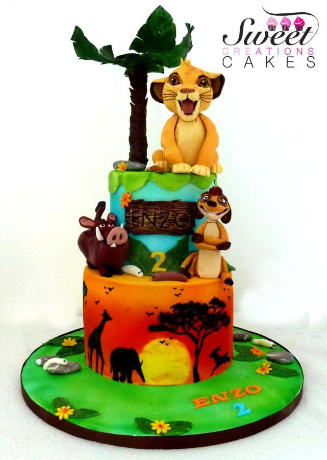 10 Photos of King Theme Cakes